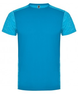 Camiseta técnica en color azul