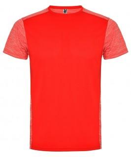 Camiseta técnica en color rojo