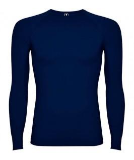 Camiseta técnica de color azul marino