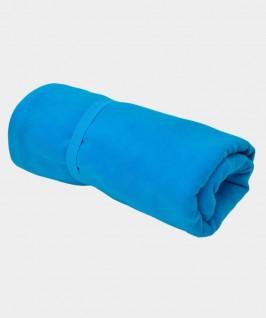 Toalla de color azul eléctrico