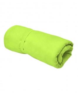 Toalla de color verde pistacho