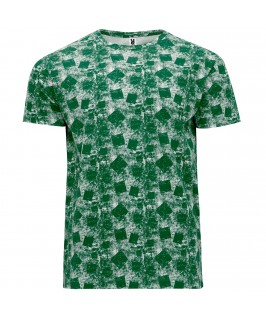 Camiseta Cocker color verde botella