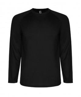 Camiseta técnica de color negro