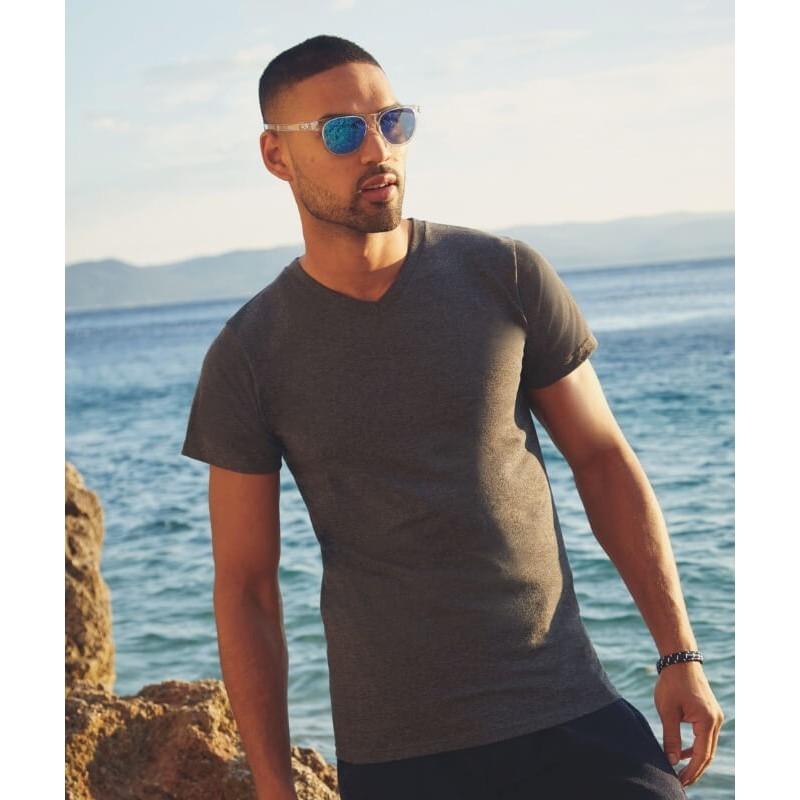 Camiseta Manga Corta Cuello en V