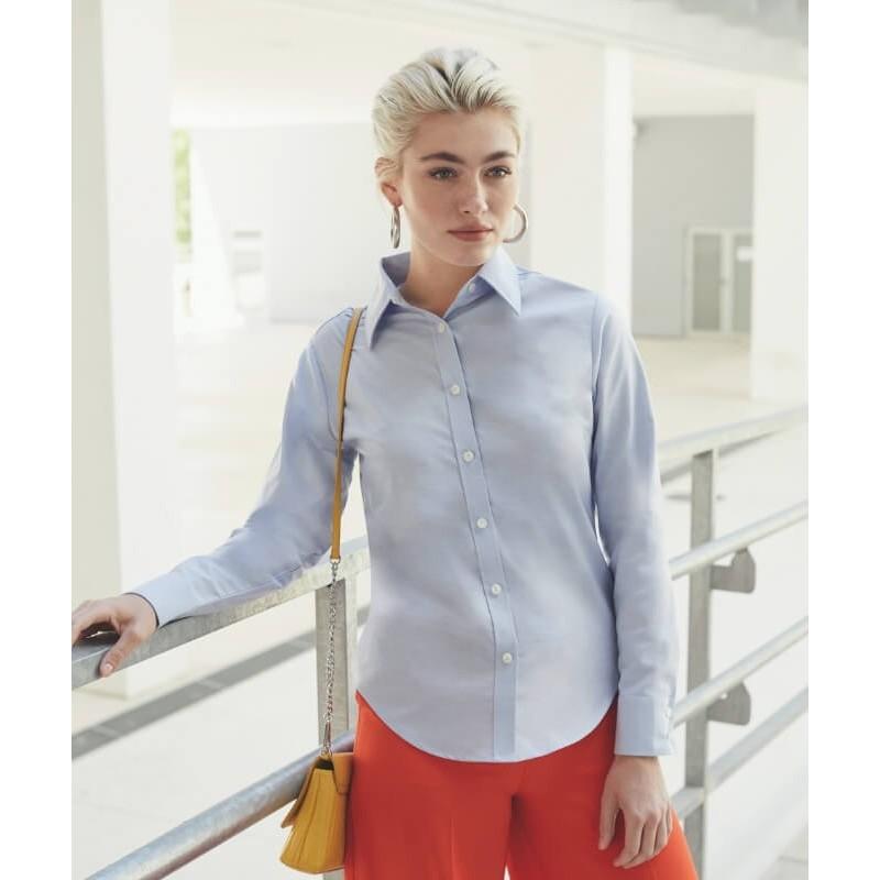 Blusa Mujer Oxford