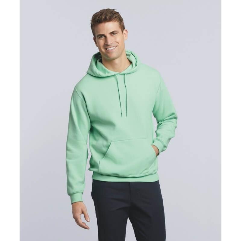 Sudadera Básica con capucha Hombre de Gildan color mint