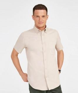 Camisa Manga Corta Hombre Brooklyn beige