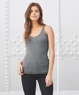 Camiseta Tirantes Atleta Sylvia Mujer de Bella + Canvas