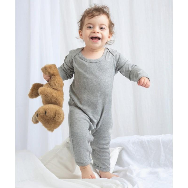 Pelele Bebé Manga Larga de Babybugz