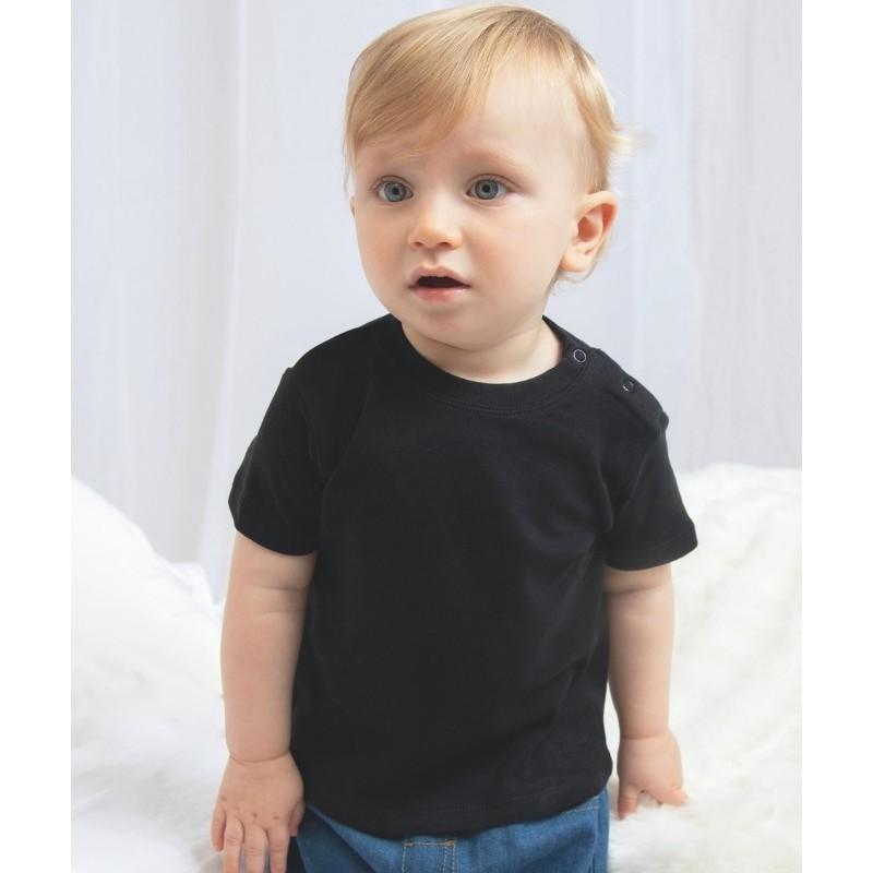 Camiseta Manga Corta Bebé de Babybugz