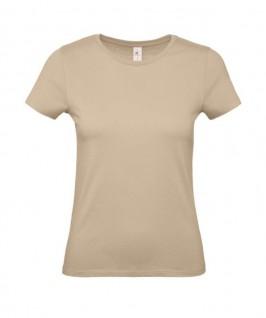 Camiseta marrón arena