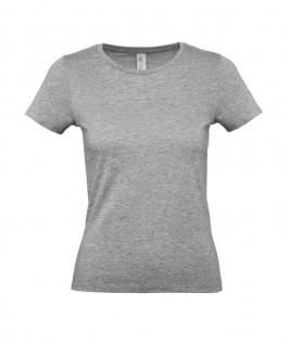 Camiseta gris jaspeado claro