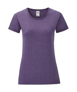 Camiseta lila jaspeado