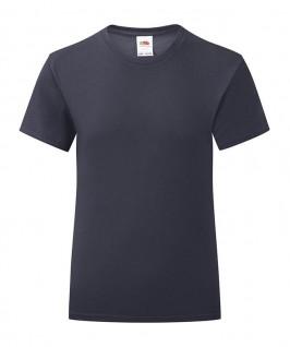 Camiseta azul marino oscuro