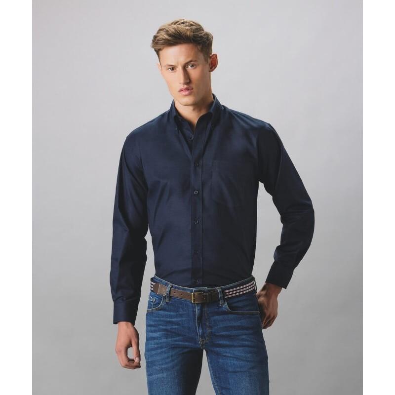 Camisa Manga Larga Hombre Oxford de Kustom Kit