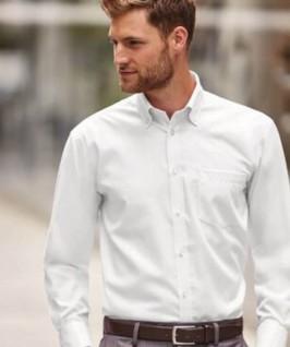 Camisa Manga Larga Hombre con Bolsillo de Russell