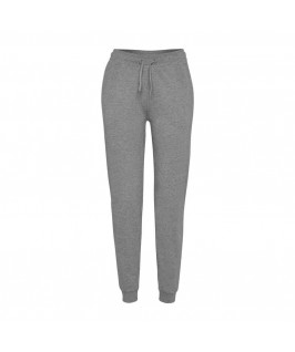 Pantalón chándal gris jaspeado