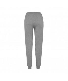 Pantalón chándal gris jaspeado vista espalda