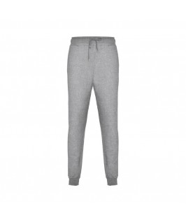 Pantalón de chándal gris jaspeado