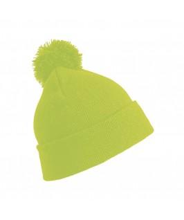 Gorro niños amarillo fluorescente