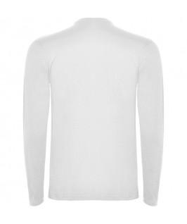 Espalda Camiseta Manga Larga blanca