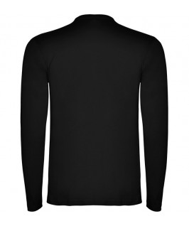 Espalda Camiseta Manga Larga negra