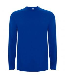 Camiseta Manga Larga azul eléctrico