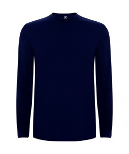 Camiseta Manga Larga azul marino