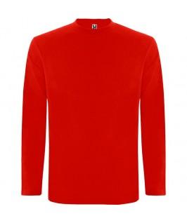 Camiseta Manga Larga rojo