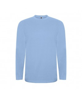 Camiseta manga larga azul cielo