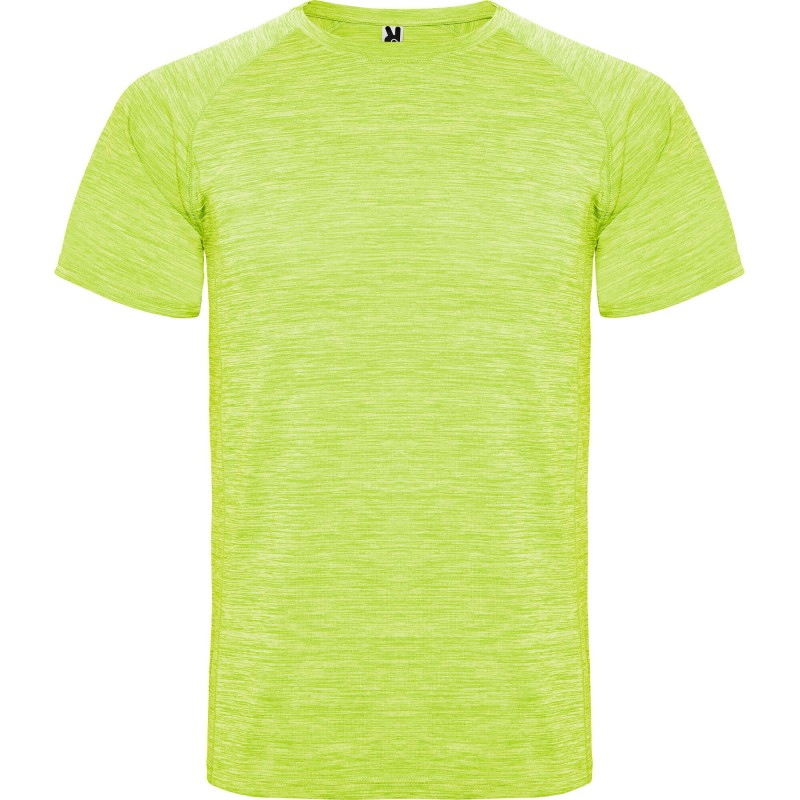Camiseta deportiva técnica Austin amarillo fluorescente