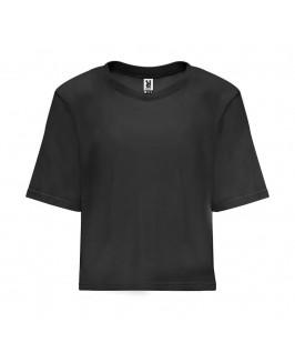 Camiseta corta Dominica negra