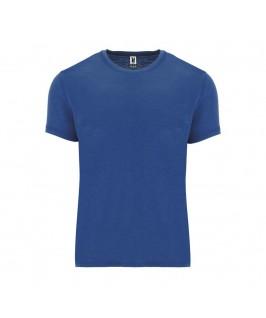 Camiseta tejido vigoré azul eléctrico