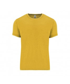 Camiseta tejido vigoré mostaza