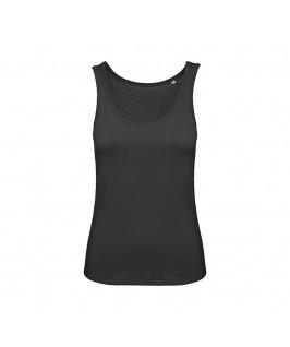 Camiseta tirantes orgánica negra
