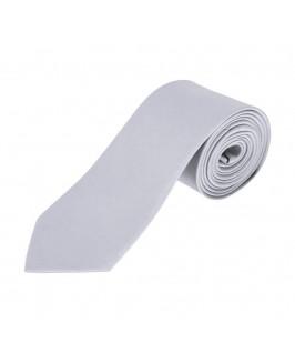 Corbata plata
