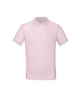 Polo orgánico rosa suave