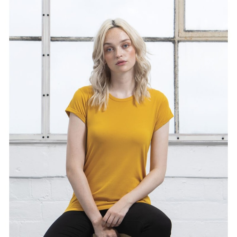 Camiseta color Mostaza