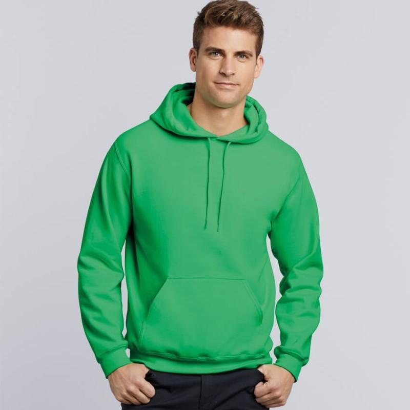 Sudadera con capucha verde