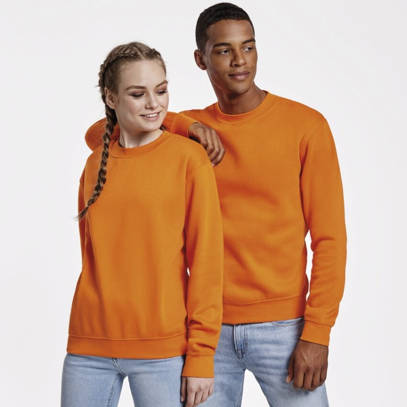 Sudadera unisex naranja