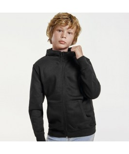 Sudadera con capucha color negro