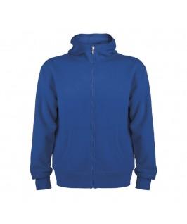 Sudadera con capucha azul eléctrico