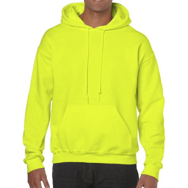 Sudadera amarillo fluorescente