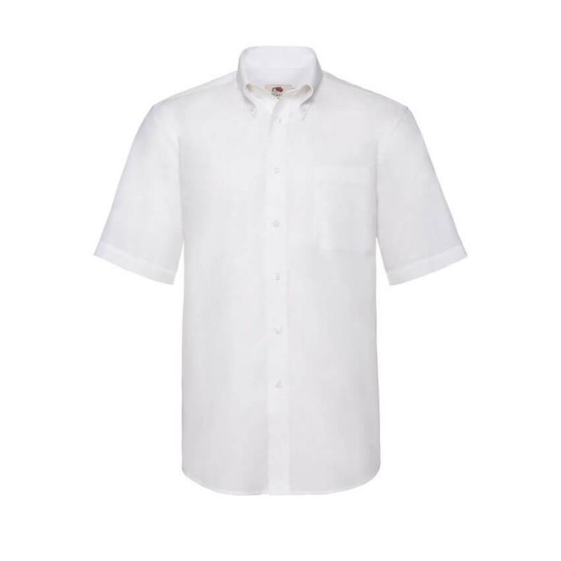 Camisa Manga Corta Hombre blanca
