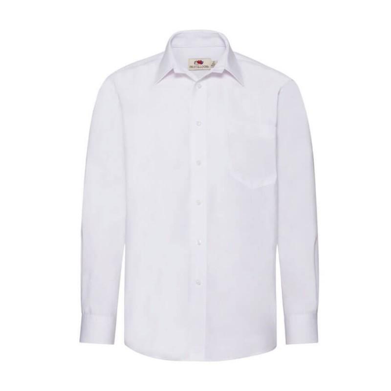 Camisa Hombre Manga Larga blanca