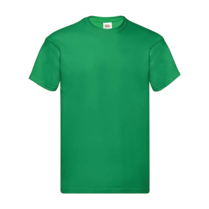 Camiseta manga corta verde hierba