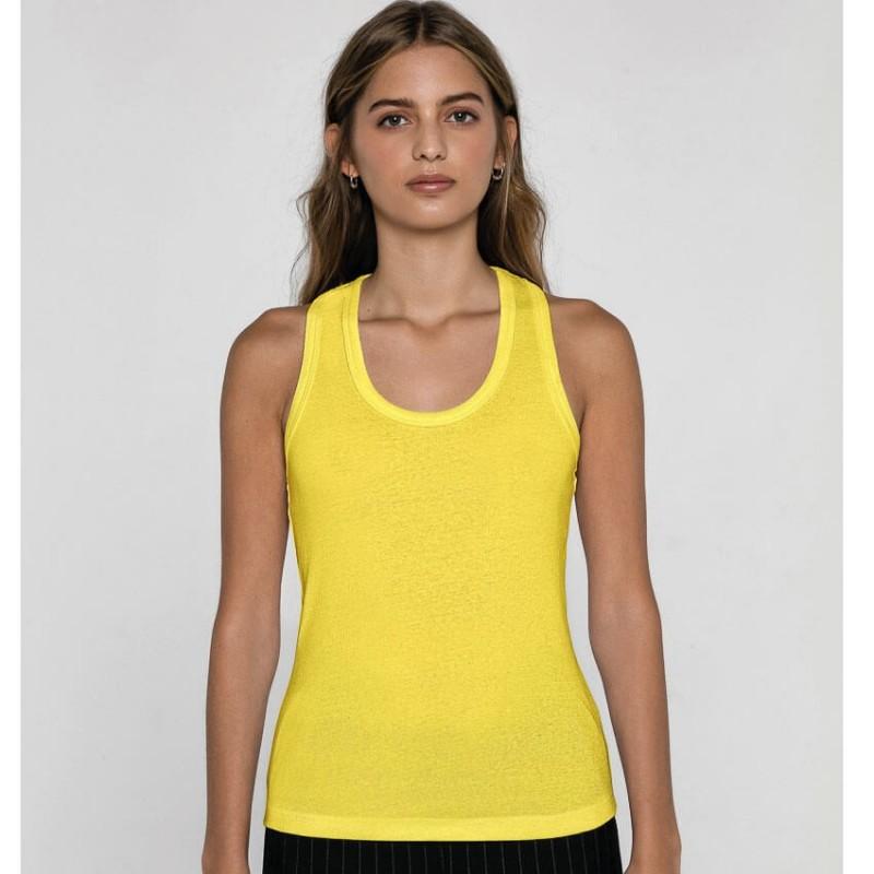 Camiseta tirantes amarilla
