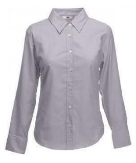 Camisa manga larga gris