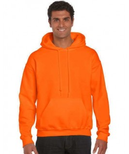 Sudadera naranja fluorescente