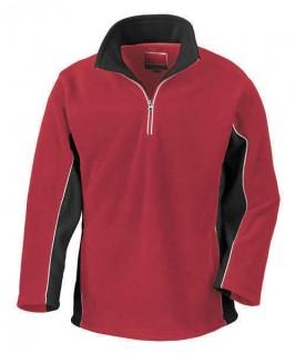 Jersey Polar rojo con negro
